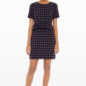 Club Monaco Bridette Ruffle Sheath Dress size 6